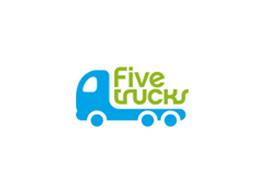 五个小卡车
